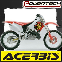 Kit Plasticos Acerbis Cr 125 - 250 1995 Al 1997 - Powertech