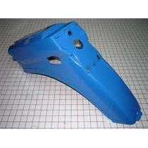 Guardabarro Trasero Guerrero Econo G90 Azul - 2r