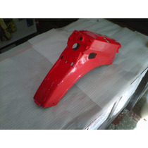 Guardabarro Trasero Guerrero Econo G90 Rojo - 2r
