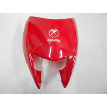 Cupulino Mascara Cubre Optica Zanella Zr 125 150 200 Rojo Or