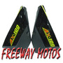 Juego Cachas Suzuki Ax 100 Color Negro En Freeway Motos !