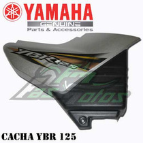 Cacha Derecha Yamaha Ybr 125 Gris Original Solo En Fasmotos