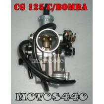 Carburador Honda Cg Titan 125 C/bomba Motos440!!!!!