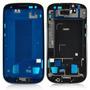 Marco Original Samsung S3 I9300 Azul Negro Bordo + Glass
