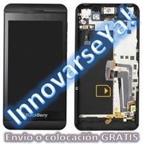 Display Blackberry Z10 4g Original Gtia 1 Año Inst Gratis