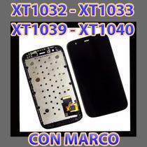 Modulo Touch Pantalla Tactil Display Moto G Xt1032