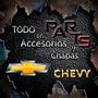 Reparacion Guardabarro Trasero Chevrolet Chevy Sedan Y Mas