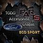 Guardabarro Delantero Eco Sport Importado 08/12 Y Mas