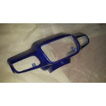 Cubre Optica Guerrero Flash Azul Purpurinado - 2r