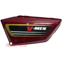 Cacha Lateral Izq Honda V Men 125 Bordo Orig Freeway Motos