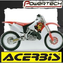 Kit Plasticos Acerbis Cr 125 - 250 1995 Al 1997 - Powertech