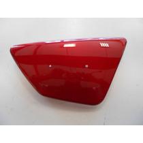 Cacha Lateral Derecha Suzuki Gn 125 Original Rojo Bordo