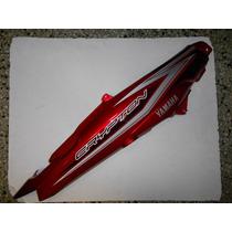 Cacha Cubre Asiento Yamaha New Crypton 110 Derecha Roja