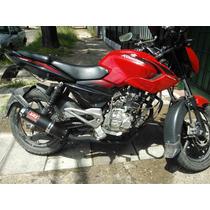 Escape Deportivo - Tuning Moto Bajaj Rouser 135 - 180 - 220