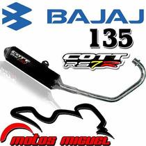 Escape Cott Bajaj Rouser 135 Motos Miguel