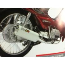 Escape Cott Rst Pro Para Honda Biz Lo Mejor De Lo Mejor