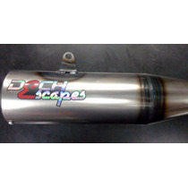 Escape Honda 150 Cg Titan New 2015 Dech Laqueado