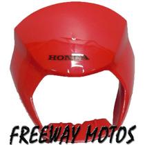 Mascara Cubre Optica Honda Xr 125l Rojo Ori En Freeway Motos