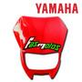 Mascara Cubre Optica Rojo Original Yamaha Xtz 125 Fas Motos