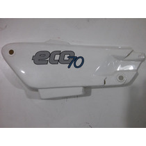 Cacha Lateral Motomel Eco 70 Blanca Original!