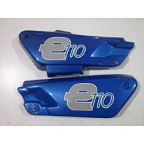 Juego De Cachas Laterales Motomel Eco 110 Azul Original!