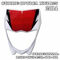 Mascara Cubre Optica Yamaha Xtz 125 Blanca Año 14 15 En Fas