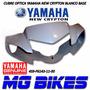 Cubre Optica Del New Crypton Blanco Base Original Mg Bikes