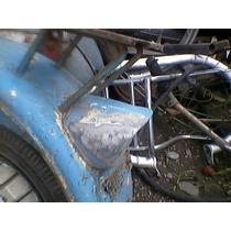 Siambretta Tv 175 Faro Trasero De Aluminio Sin Mica