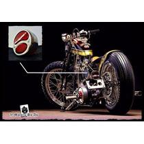 Farol Bobber Luz Retro Moto Antigua