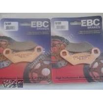 4 Juegos Pastillas Ebc Del/tra Polaris Rzr 800 Del 2008/11