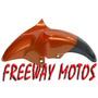 Guardabarro Yamaha Fz 16 Naranja Original En Freeway Motos !