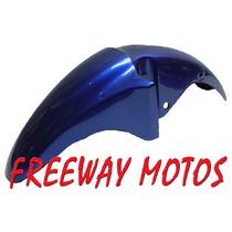 Guardabarro Delant Honda Cg 150 Azul En Freeway Motos!!