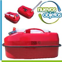 Bidón Metálico De 10l Para Combustibles Nautica 4x4 Autos