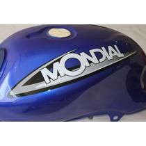 Tanque De Nafta Mondial Rd150 Azul