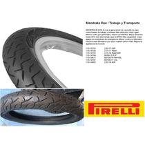 Cubierta Pirelli 80/100-14 Biz-smash Mandrake Due Moto Delta