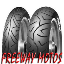 Cubierta Pirelli 110/70-17 Sport Demon Motard Freeway Motos!