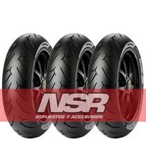 Cubierta Pirelli 140 70 17 Diablo Roso Rouser Ns Twister Nsr