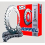 Kit De Transmision Riffel Gilera Smash Honda Wave Ciclofox