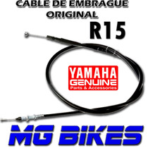 Cable Embrague Yamaha R 15 Original Al Mejor $$ Mg Bikes