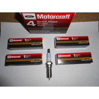 Juego 4 Bujias Motorcraft Platinum Ford Motor Rocam 1.6 Gnc