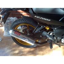 Escape Deportivo Completo Xrs - Gilera Vc200 - Motomel Sr200
