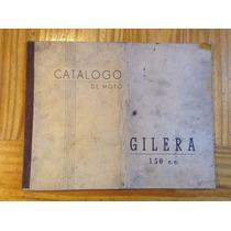 Gilera 150 Antiguo Catálogo De Moto 1950