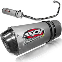 Escape Spr Aluminium 4 Honda Cg 150 Motos Miguel