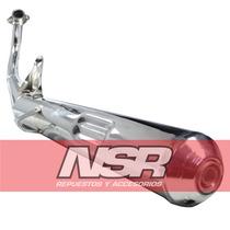 Escape Suzuki Ax 100 Y 115 Silenciador T/ Original Nsr Motos