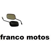 Espejos Honda Cg 125 Fan /titan El Mejor Precio Franco Motos