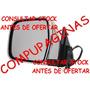Espejo Retrovisor Original Toyota Hilux 2001 Electrico Cromo