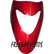 Cubre Optica Honda Elite 125 Rojo Metal En Freeway Motos !