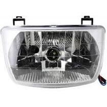 Farol Optica Luz Delantera Honda Wave Con Acrilico - F2