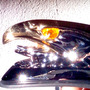 Aguila Guardabarro Metal Led Faro Moto Custom Choper Giro