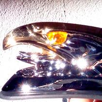 Aguila Guardabarro Metal Led Faro Moto Custom Choper Giro